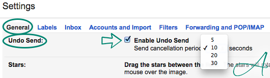 general unsend gmail