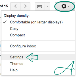 settings unsend gmail autograph